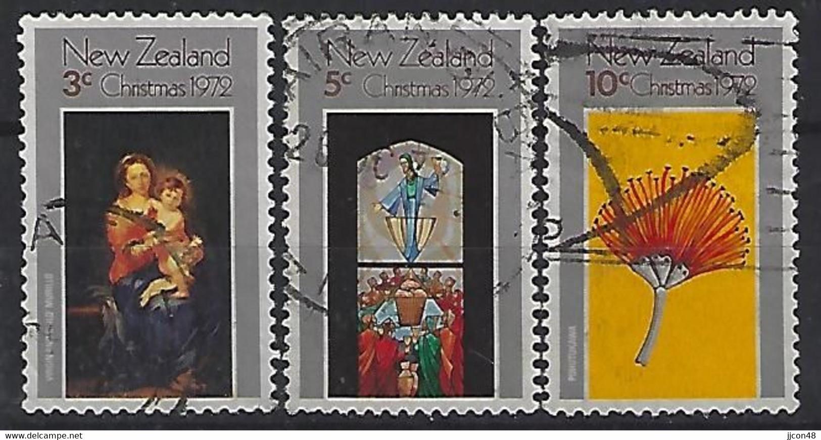 New Zealand 1972  Christmas  (o) ACS.  C17-19 - Gebraucht