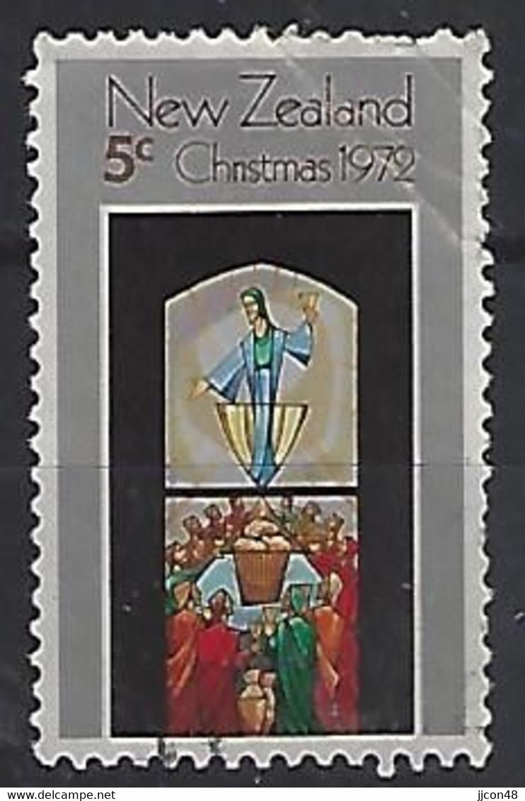 New Zealand 1972  Christmas  5c  (o) ACS.  C18 - Gebraucht