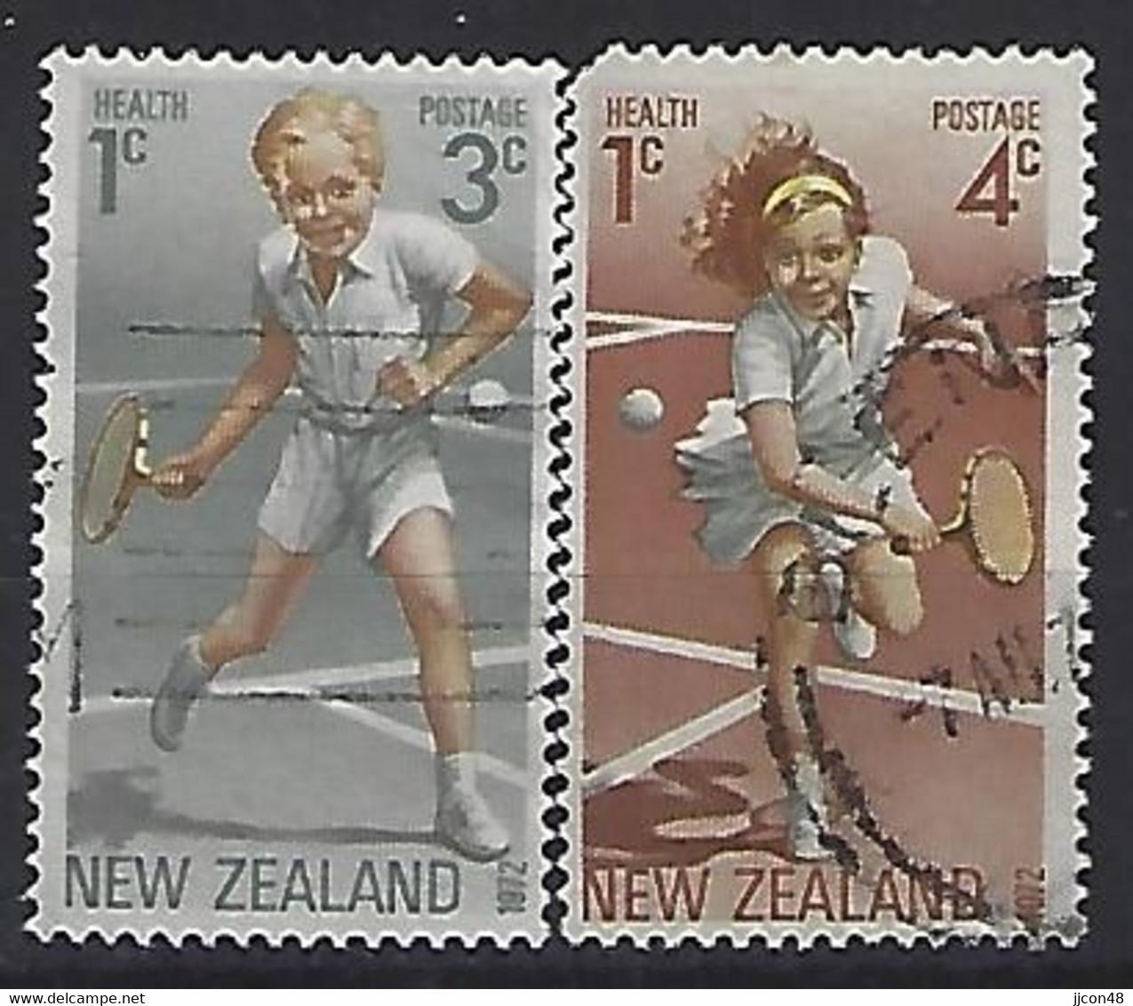New Zealand 1972  Health  (o) ACS. H97-98 - Gebraucht