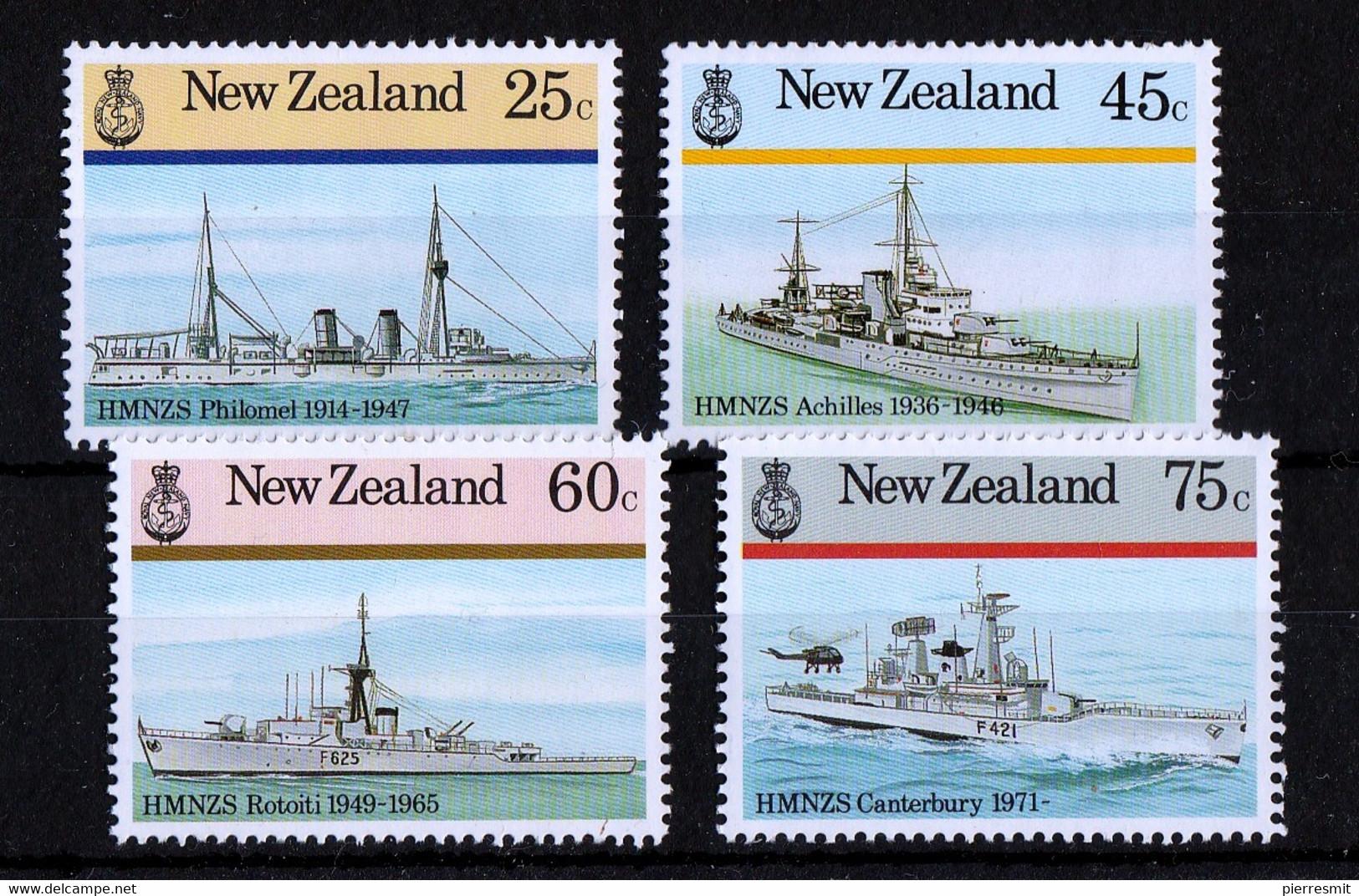 UMM 1985 Warships - Unused Stamps