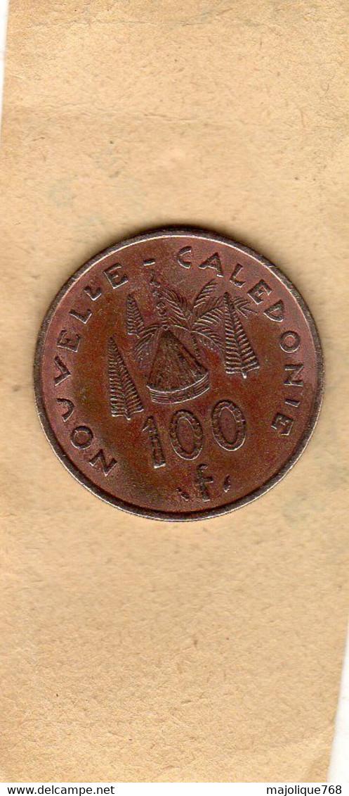 Monnaie Du  Nouvelle-Calédonie - 100 Francs 1984 En Nickel-Bronze - TTB - New Caledonia