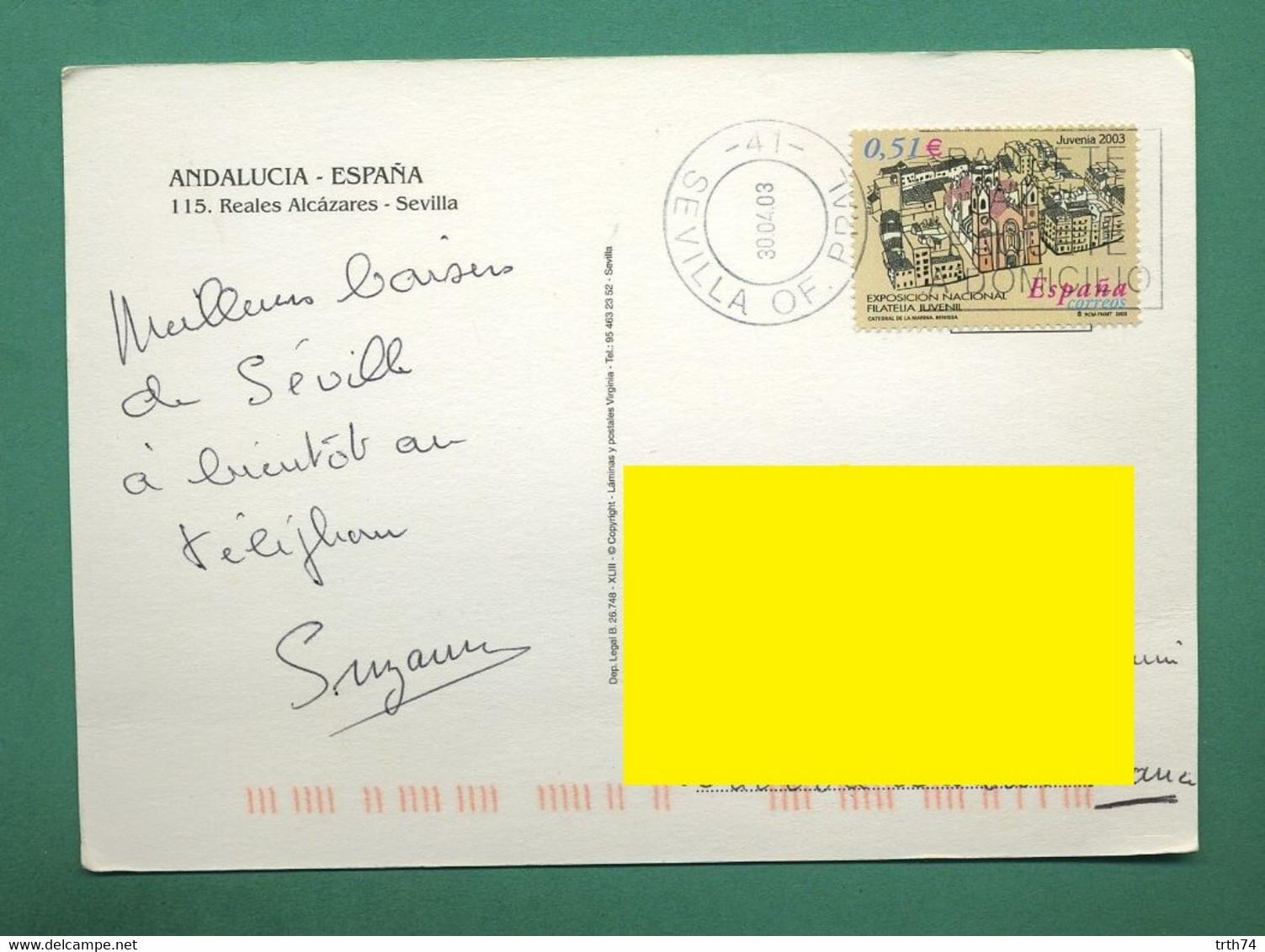 Espagne Sévilla Andalucia ( Coquilles, Shell ) ( Format 115 X 160 Mm ) - Sevilla