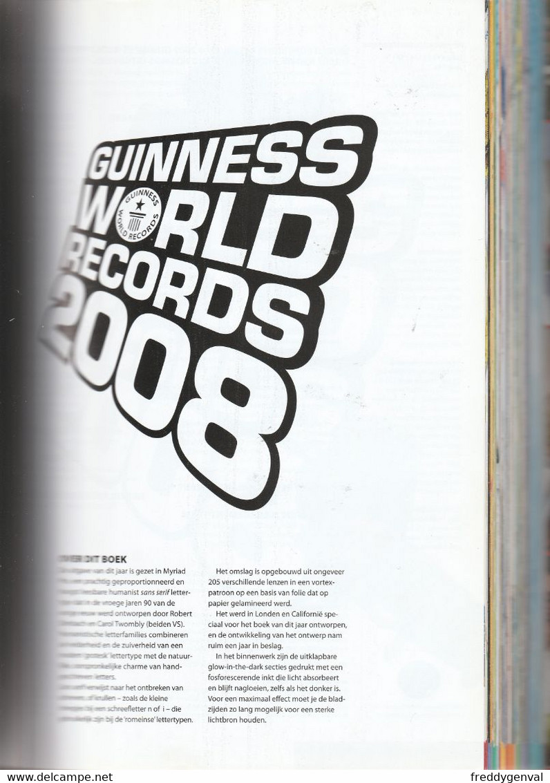 GUINNESS BOOK RECORDS 2008 - Practical