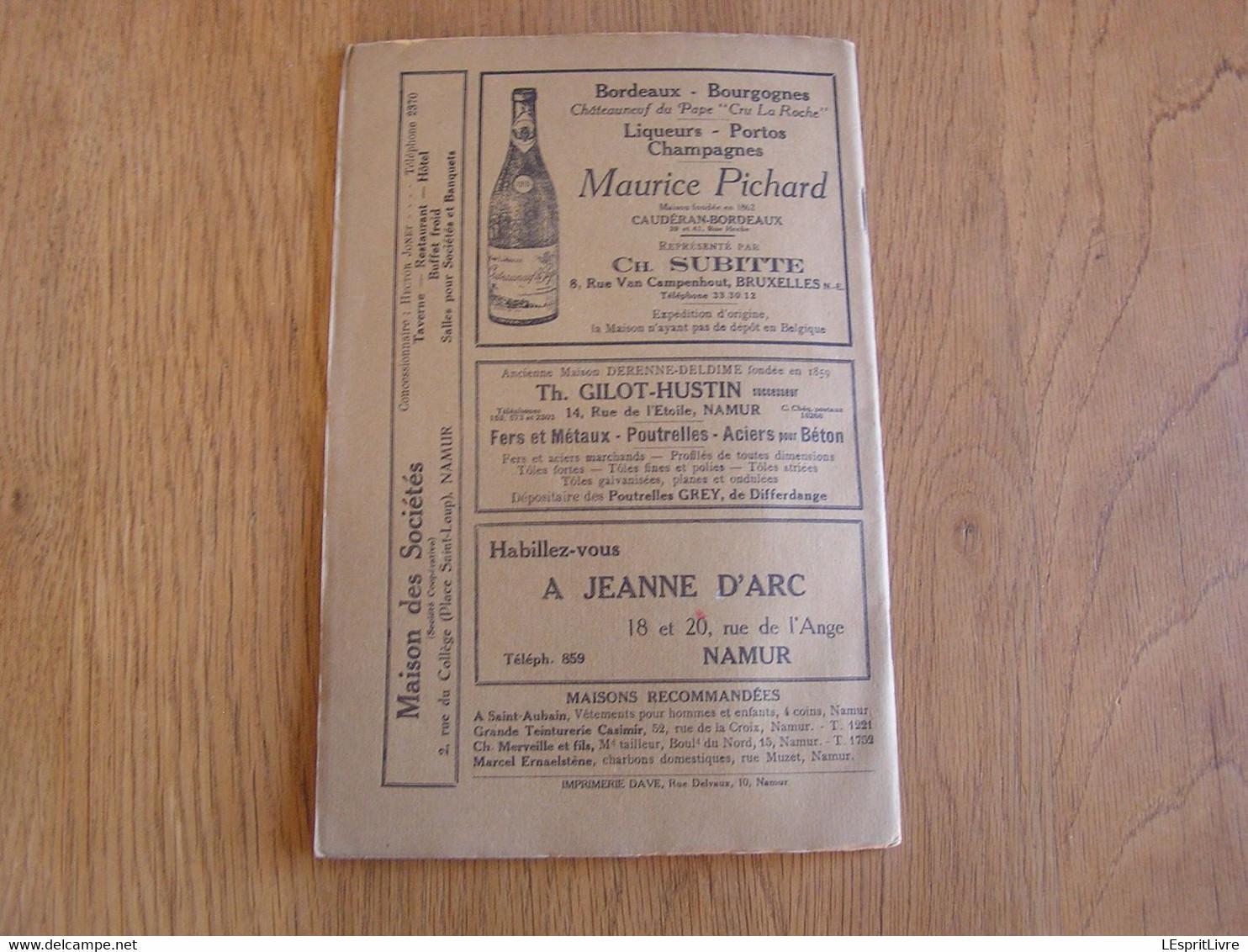 LE GUETTEUR WALLON Mars Avril 1932 8 ème Année 104-105 Régionalisme Le Flamand Dans L'Enseignement  Grès Andenne - Belgium