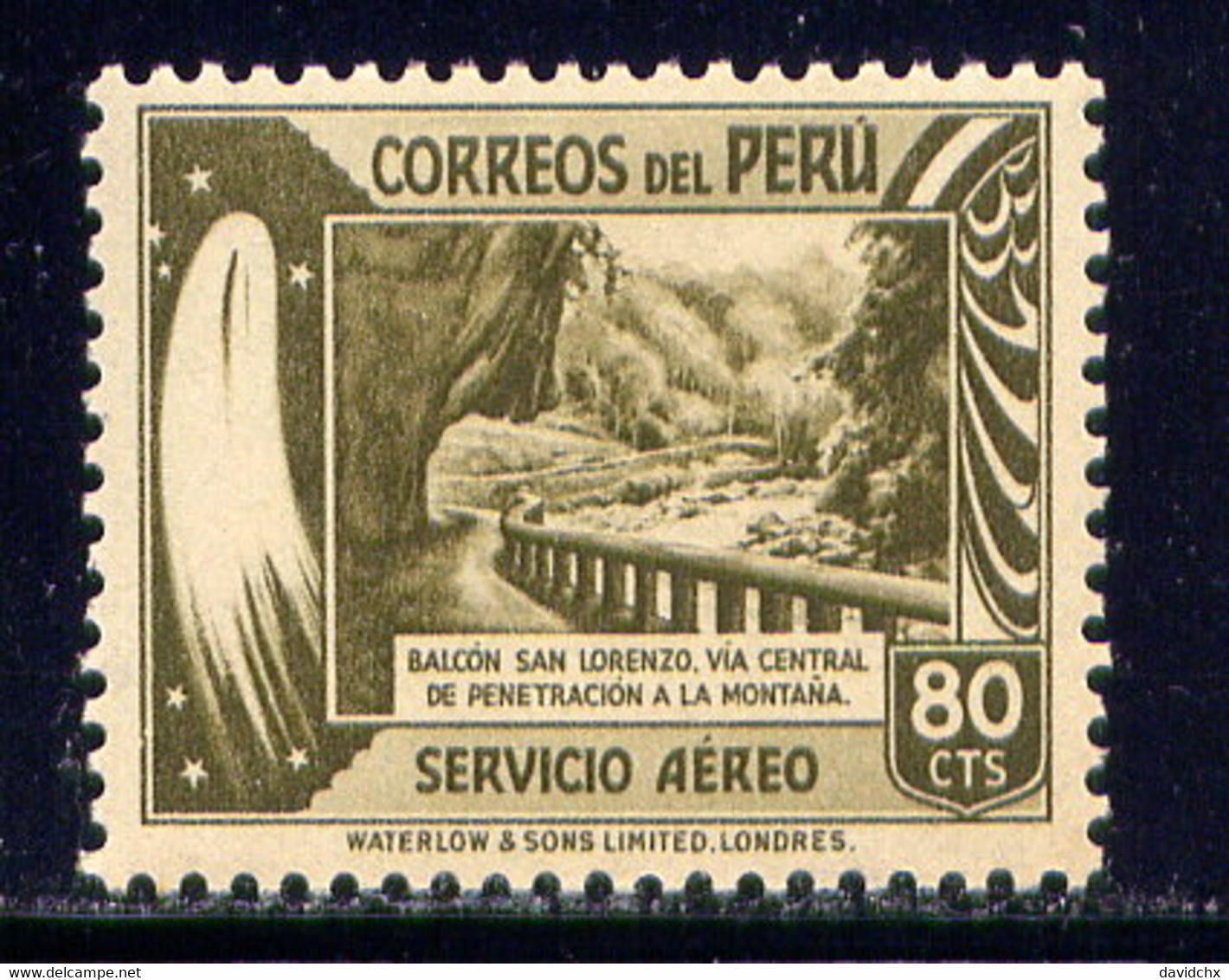 PERU, NO. C56, MH - Peru