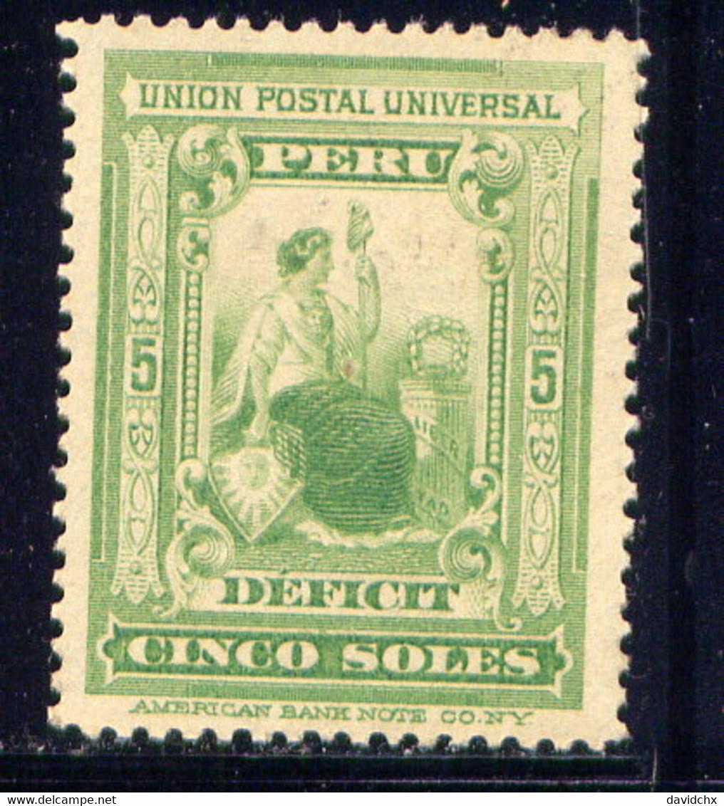 PERU, NO. J34, MLH - Peru