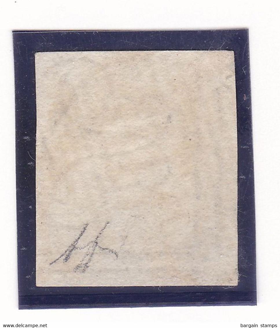 Belgique - COB 1 Obl. P 114 Termonde - Signé Diena - 1849 Schulterklappen