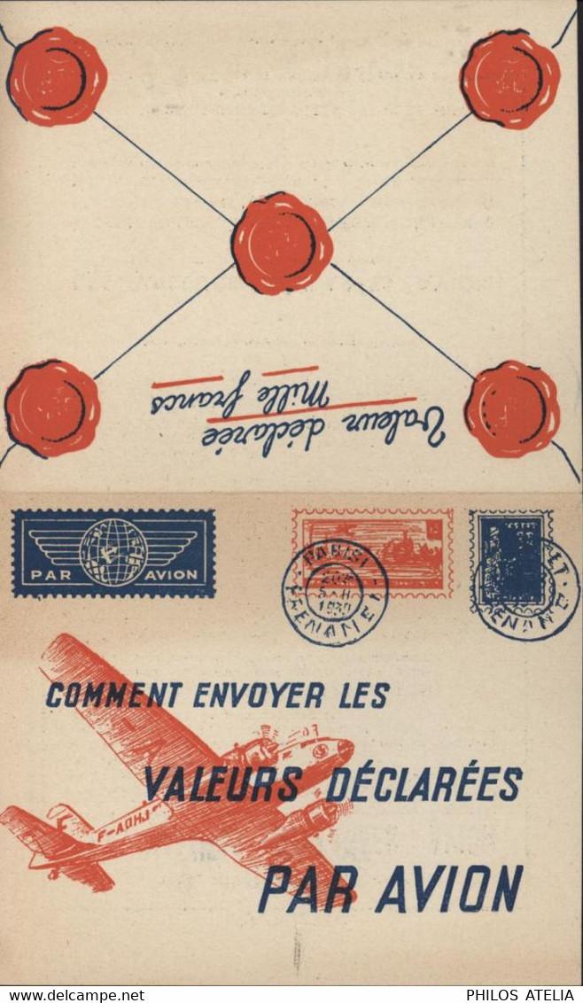 Imprimé Faux Entier Publicitaire Comment Envoyer Les Valeurs Déclarées Par Avion Tarif - Other