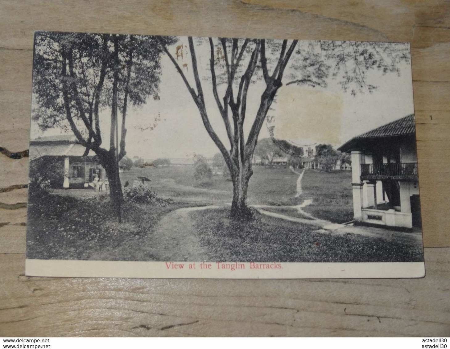 SINGAPOUR : View At The Tanglin Barracks ................ 201101-1819 - Singapur