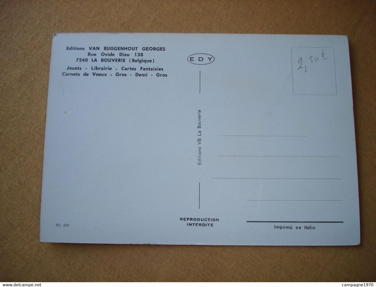 CPSM - LA BOUVERIE ( FRAMERIES MONS ) - EDITIONS VAN BUGGENHOUT ( LES BATIMENTS ) - Frameries