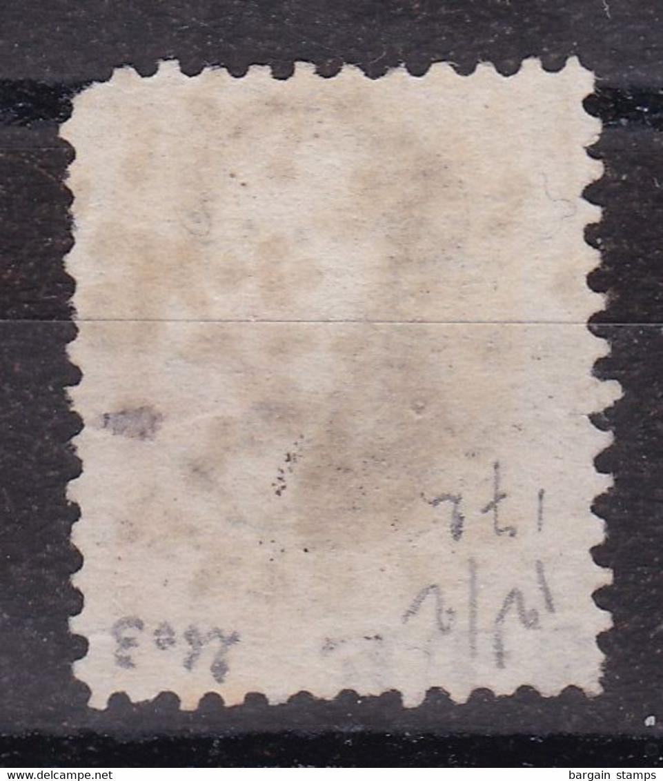 Belgique - COB 14 Avec STE (POSTE) Dans La Marge Inférieure - Obl. Losange à Points 226 Louvain - 1863-1864 Medaillen (13/16)