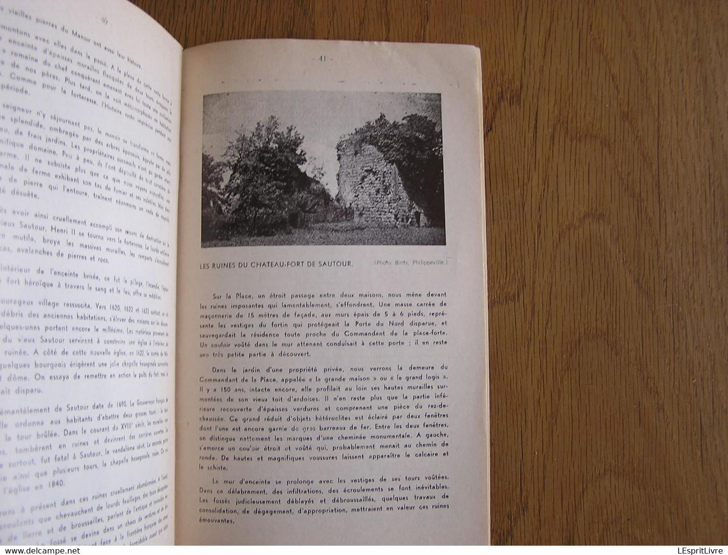 LA ROUTE DES FORTERESSE 5 Siècles Régionalisme Philippeville Samart Roly Sautour Histoire Château Fortifications Ferme - Belgio
