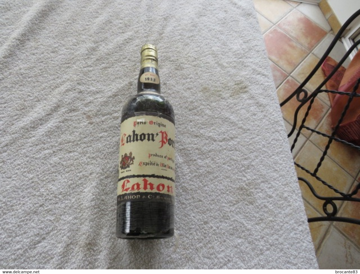 PORTO BLANC LAHON 1938 - Spirits