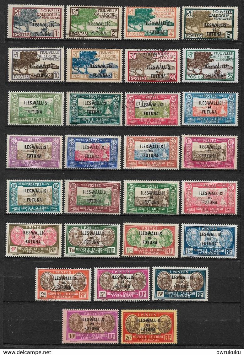 W&F4 -Wallis & Futuna N°43 à N°65 Sauf 60A Neuf Ou Oblitéré 31 Valeur CV + De 99,00 Euros - Unclassified