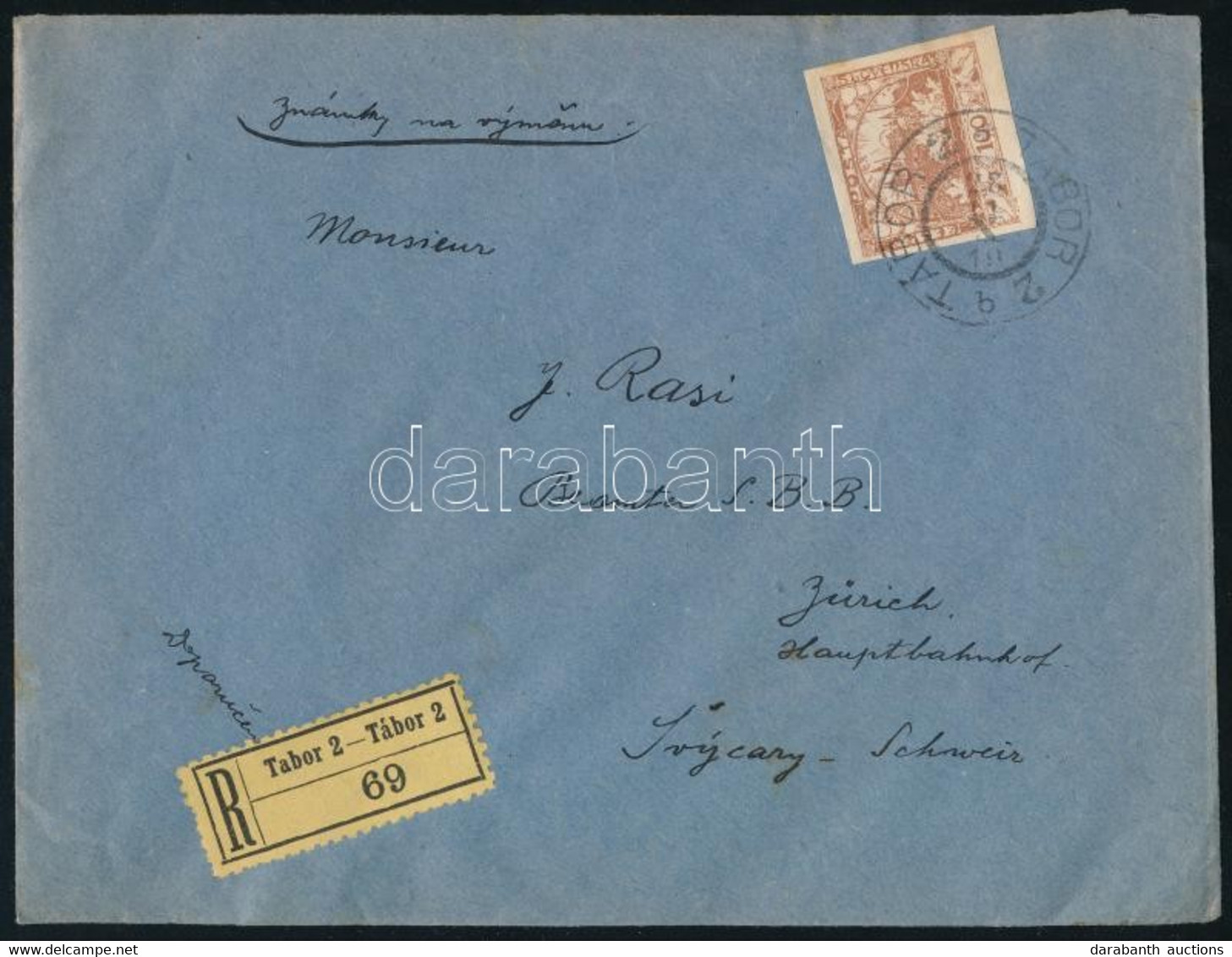Csehszlovákia 1919 - Non Classificati