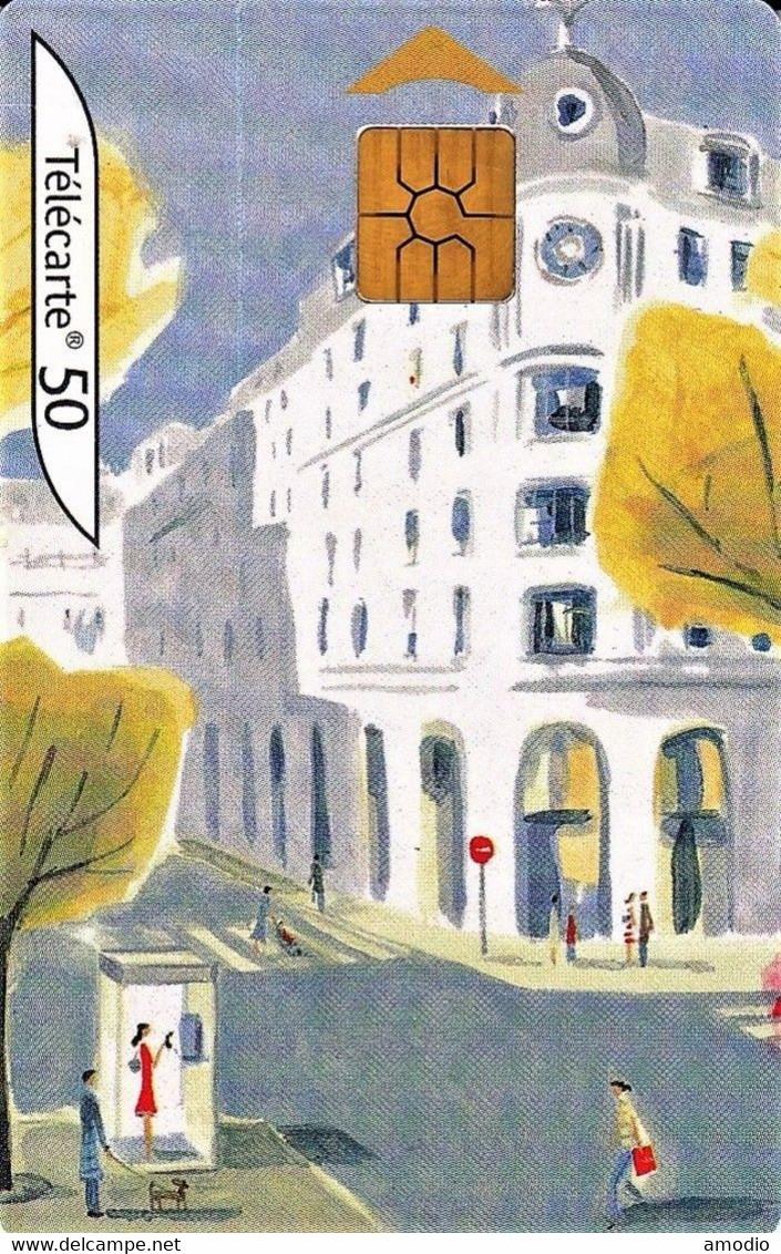 Télécarte FT 50 U 02/04  Au Coeur Des Villes, L'automne  B41714503 - Telecom Operators