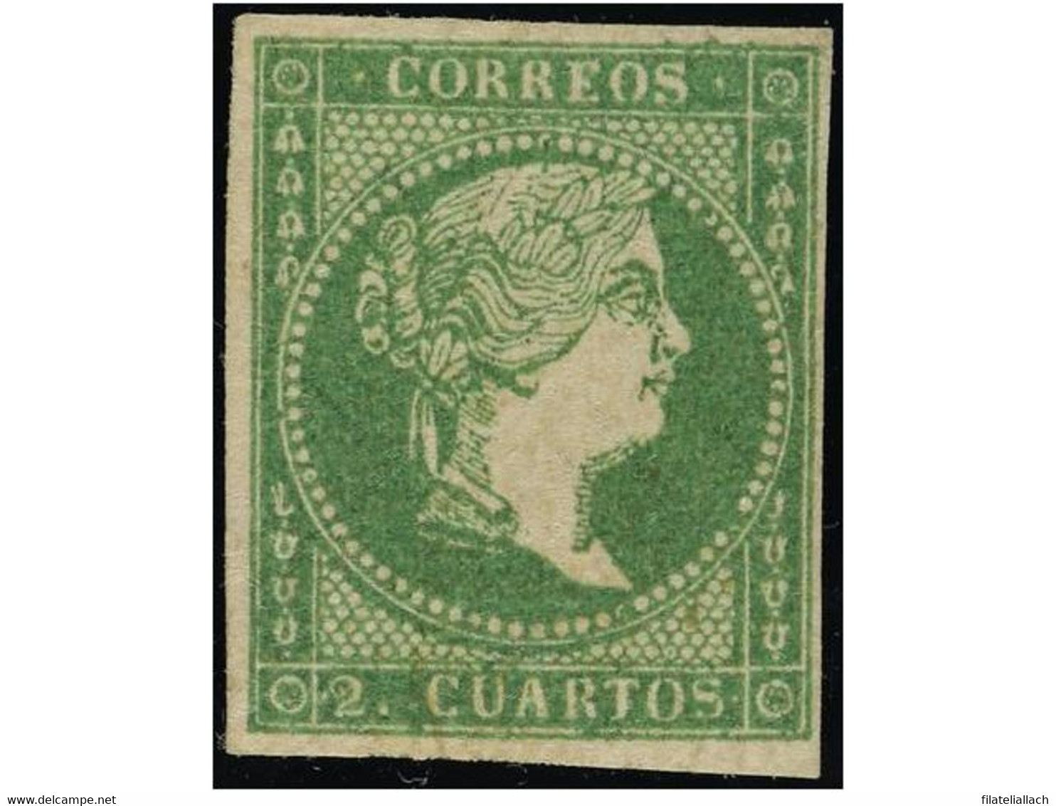 SPAIN: ISABEL II. 1850-65. IMPERF. ISSUES - Unclassified