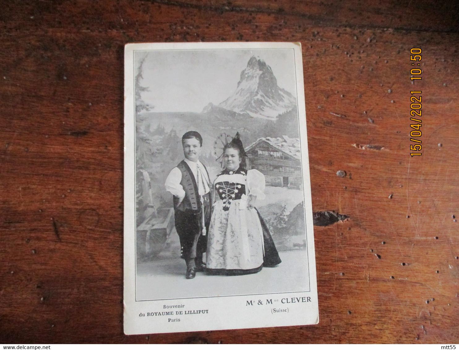 Royaume De Liliput  M Et Mme Clever Suisse - Zirkus