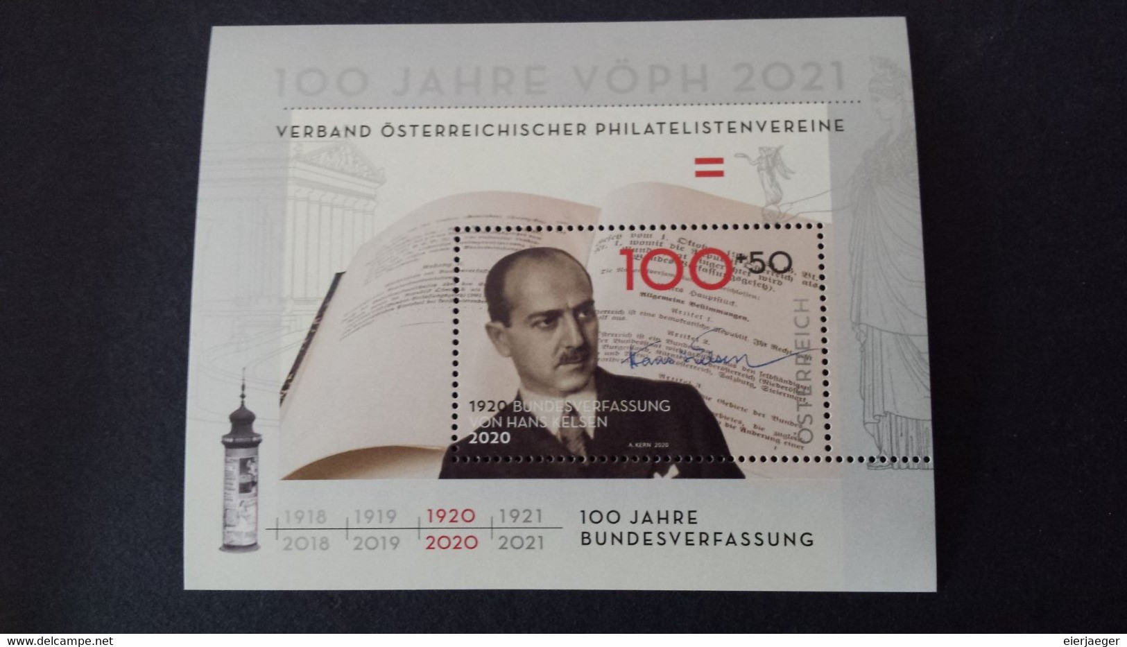 Oesterreich 2020 Mi-Block 118 Postfrisch - Blocs & Hojas
