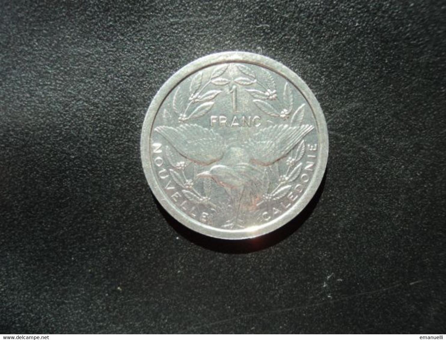 NOUVELLE CALÉDONIE : 1 FRANC   2002    KM 10    NON CIRCULÉE  * - New Caledonia