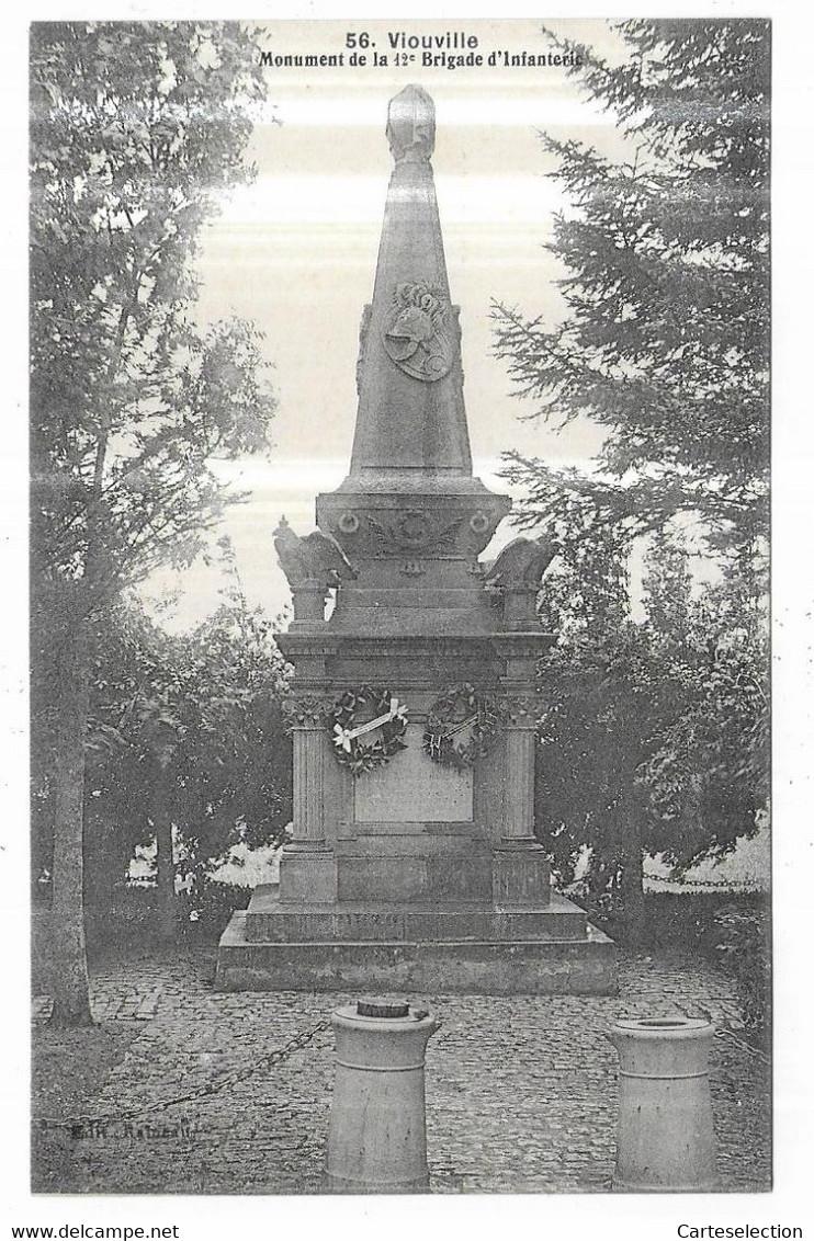 Vionville Monument De La 12° Brigade D' Infanterie - Altri Comuni
