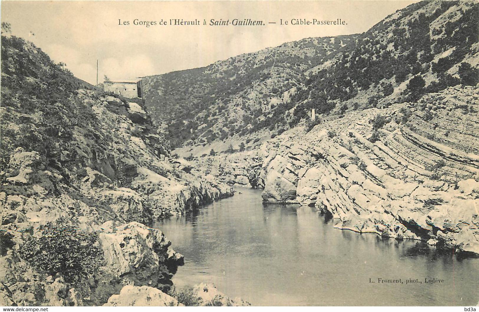 34 - SAINT GUILHEM LE DESERT - LE CABLE PASSERELLE - Other Municipalities