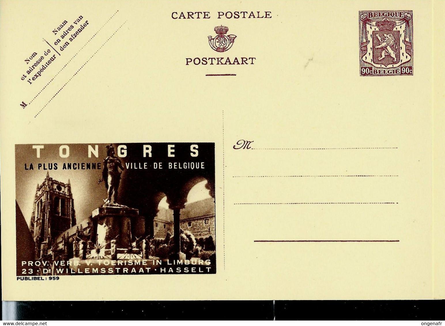 Publibel Neuve N° 959 ( TONGRES La Plus Ancienne Ville De Belgique ) - Publibels