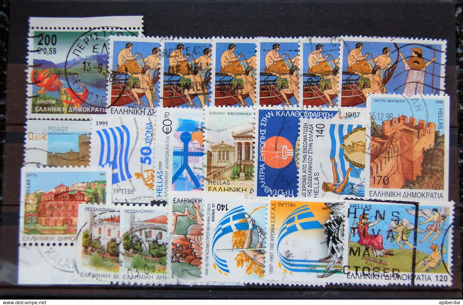 Grece Greece  - Small Batch Of 21 Stamps Used - Collections