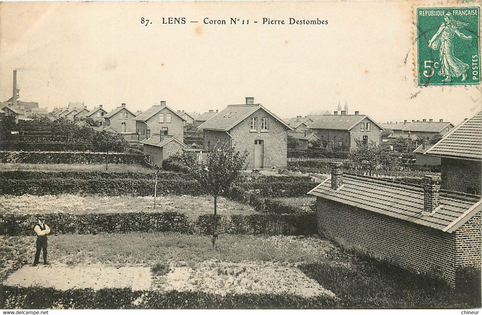 LENS CORONS N°11 PIERRE DESTOMBES - Lens