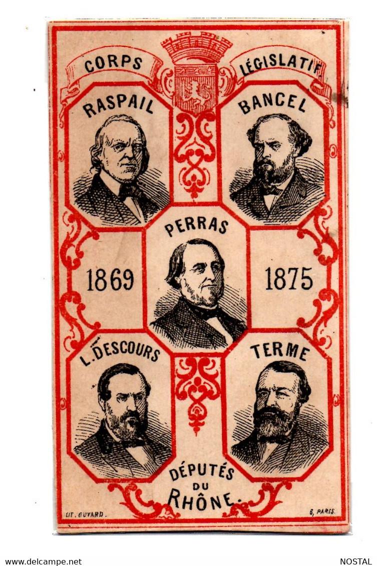Image Députés Du Rhone 1869-1875 - Zonder Classificatie