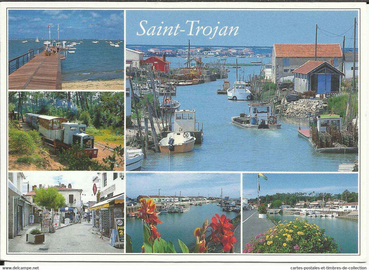 SAINT TROJAN , La Pointe De Manson , Le Petit Train , Les Rues Piétonnes Et Les Cabanes Ostréicoles , 2005 - Sonstige Gemeinden
