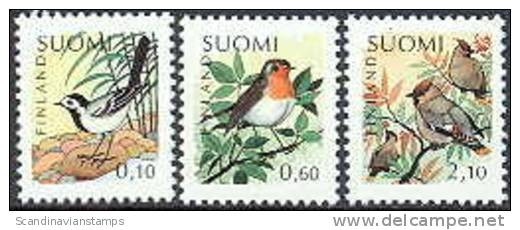 Finland 1992 Vogels II Serie PF-MNH-NEUF - Nuevos