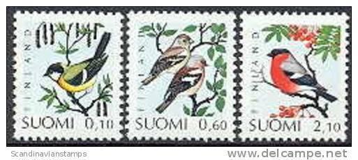 Finland 1991  Vogels 1 Serie PF-MNH-NEUF - Nuevos