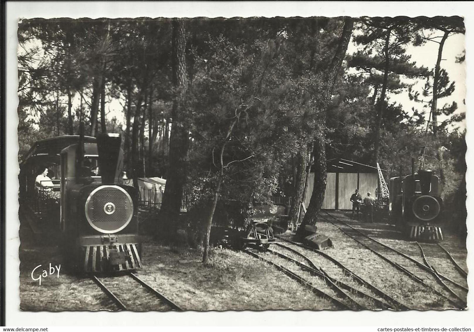 ILE D'OLERON ( Charente Maritime ) , Petit Tramway Touristique De SAINT TROJAN , 1966 - Sonstige Gemeinden
