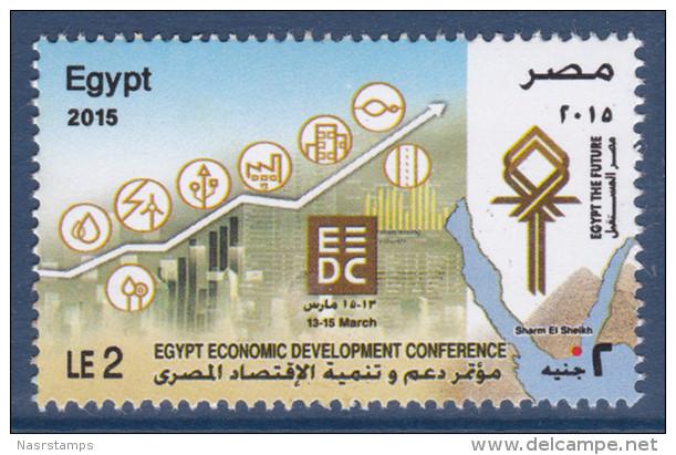 Egypt - 2015 - ( Egypt Economic Development Conference ) - MNH (**) - Nuovi