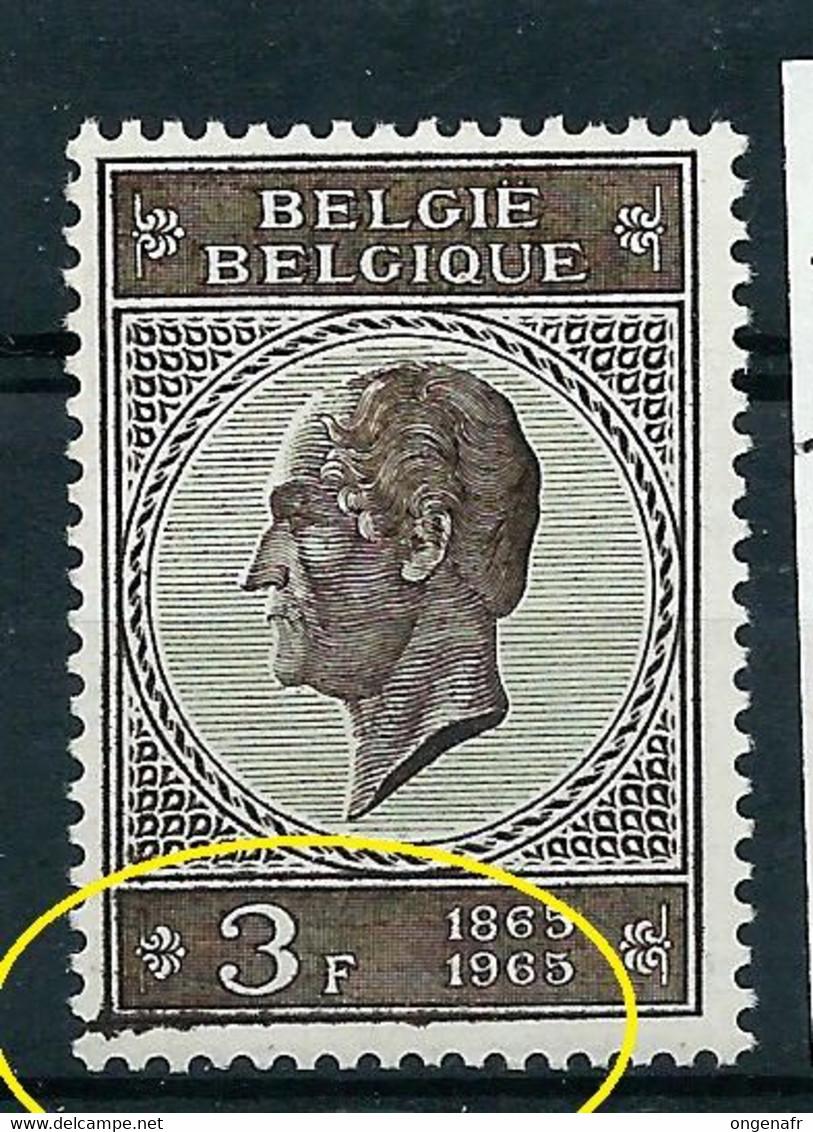 N° 1349 CU - Bavure En Bas  - (état: **) - Oddities