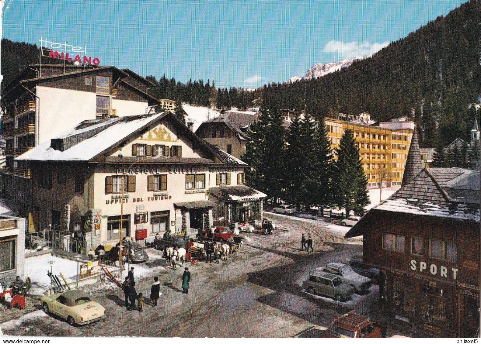 Italië - Trentino-Alto Adige - Trento  - Madonna Di Campiglio - Dolomiti Di Brenta - Kleur/color - Gebruikt - Altre Città