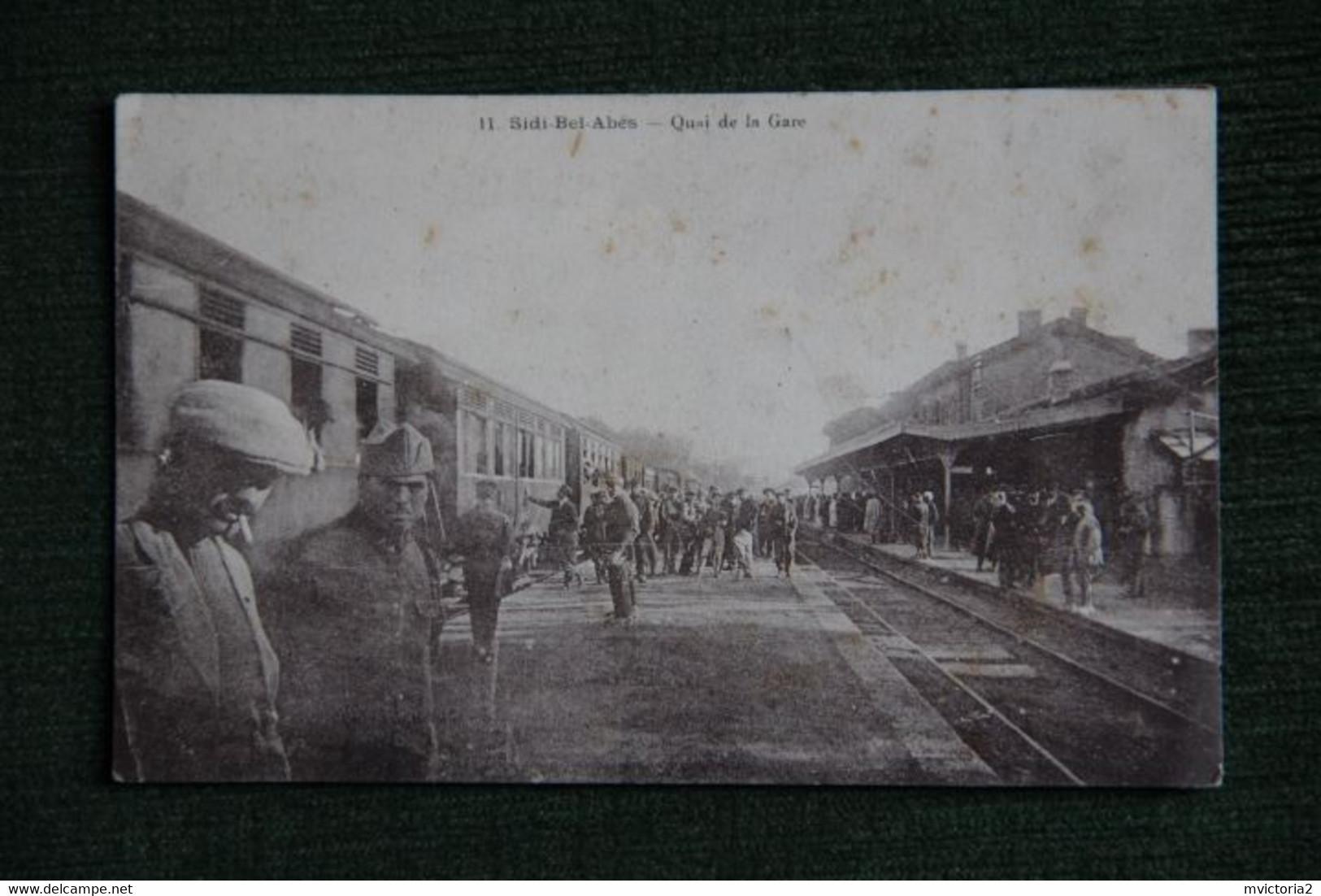 SIDI BEL ABBES - Quai De La Gare. - Sidi-bel-Abbès