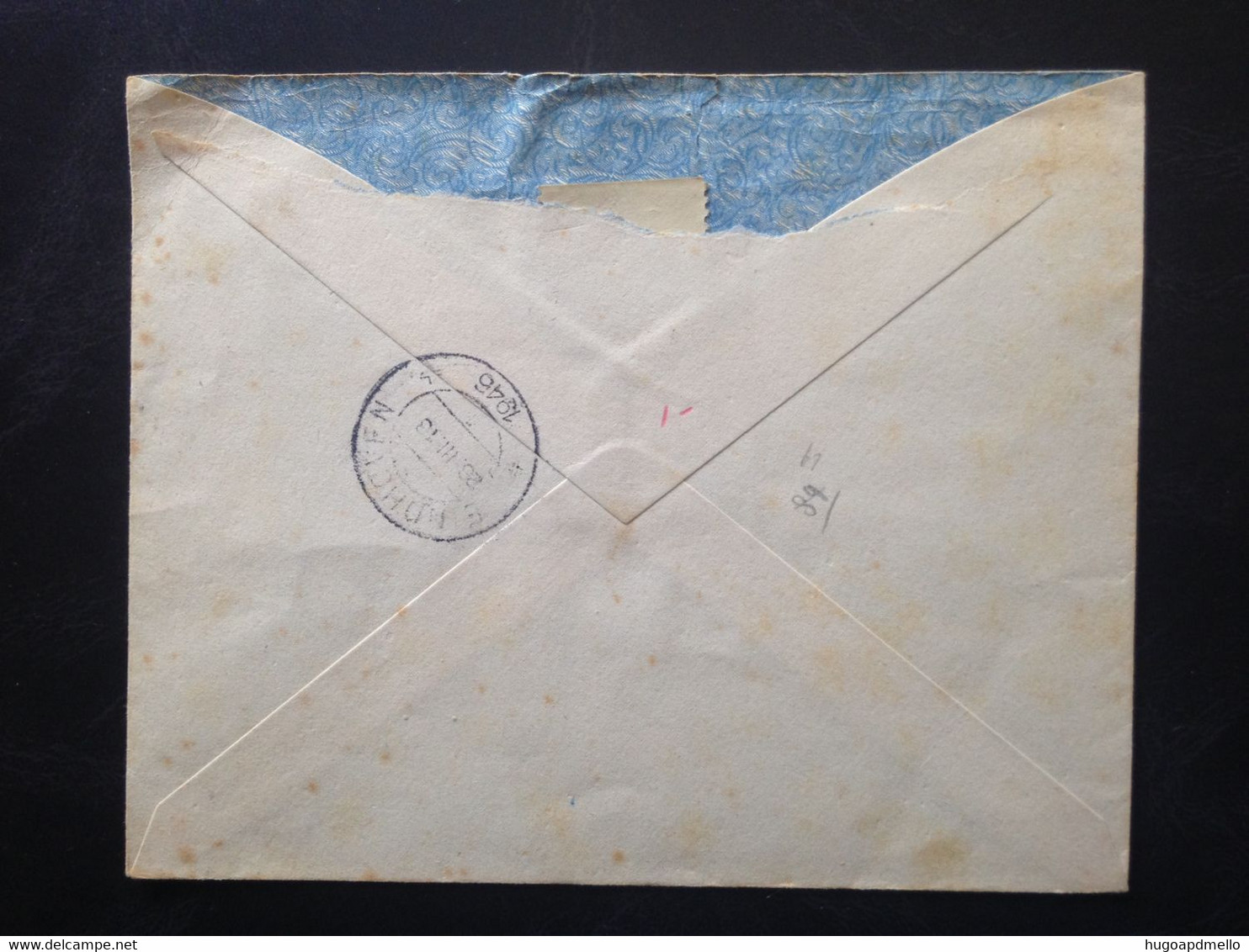 SPAIN, Registered Circulated Cover To Netherlands, 1946 - 1931-50 Cartas