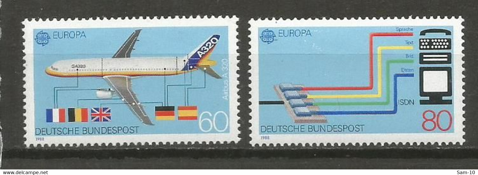 Timbre Allemagne Fédérale Neuf **  N 1199 / 1200 - Nuovi