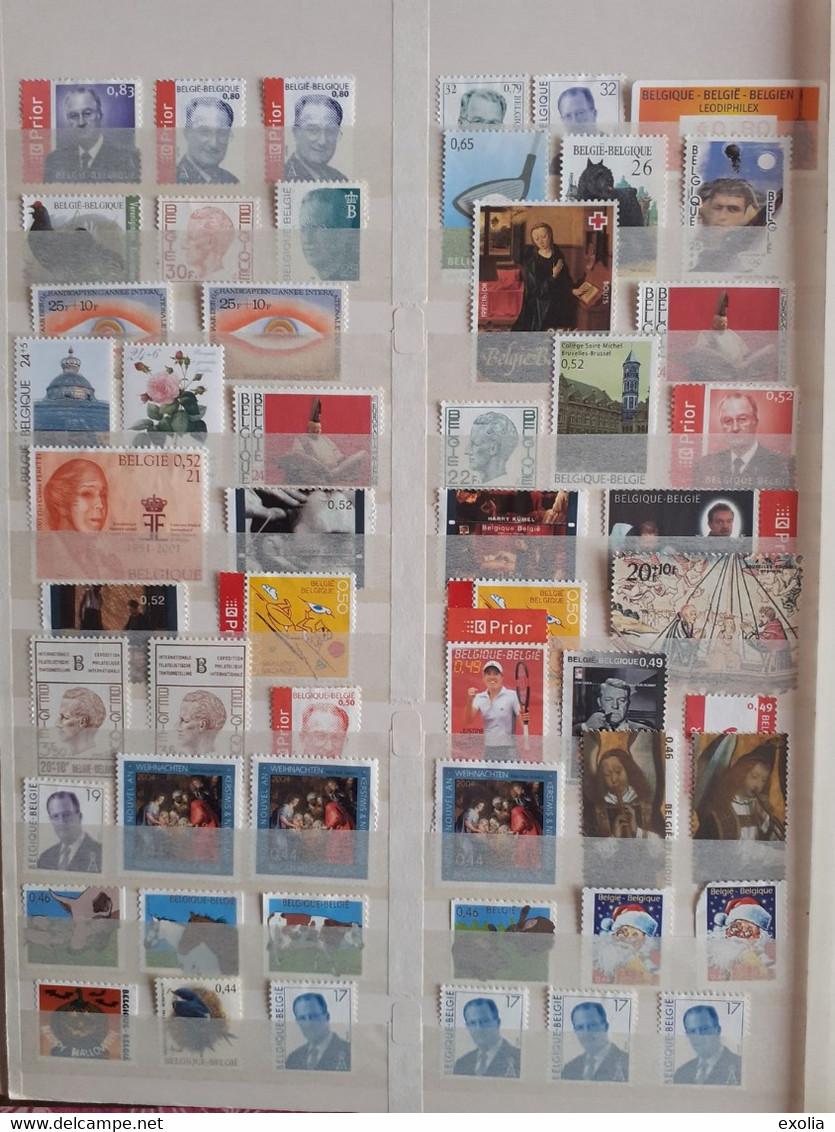 Lot 485 Euros De Faciale Sans Surtaxe, Timbres Pour Affranchissement En Belgique. Lire Description Complète - Other