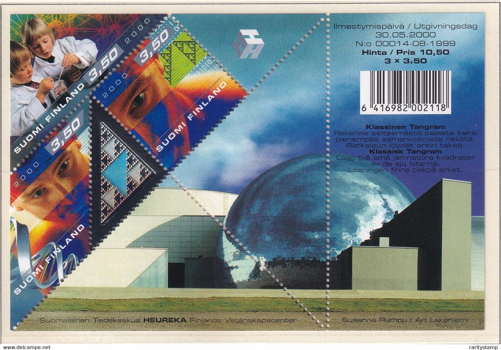 FINLANDIA 2000 LA SCIENZA  BF 24 MNH** - Nuevos