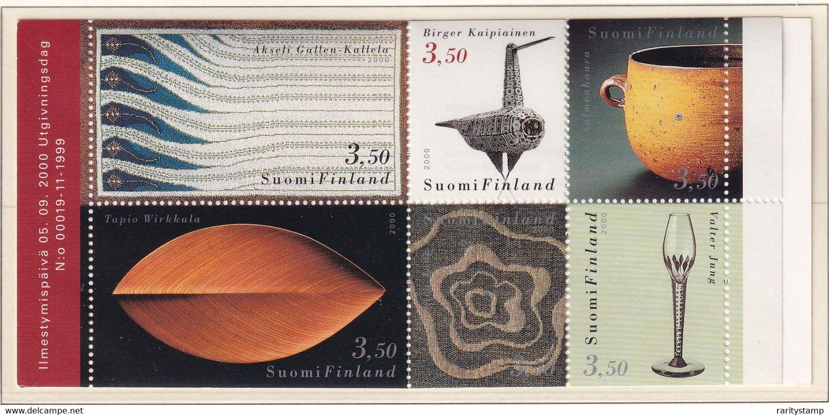 FINLANDIA 2000 DESIGN FINLANDESE LIBRETTO L1502 MNH** - Nuevos