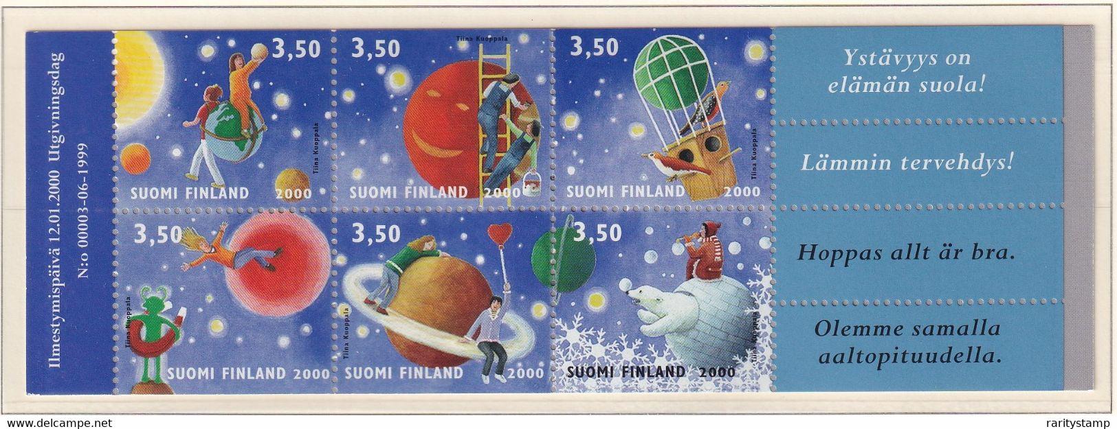 FINLANDIA 2000 SAN VALENTINO LIBRETTO L1477 MNH** - Ongebruikt