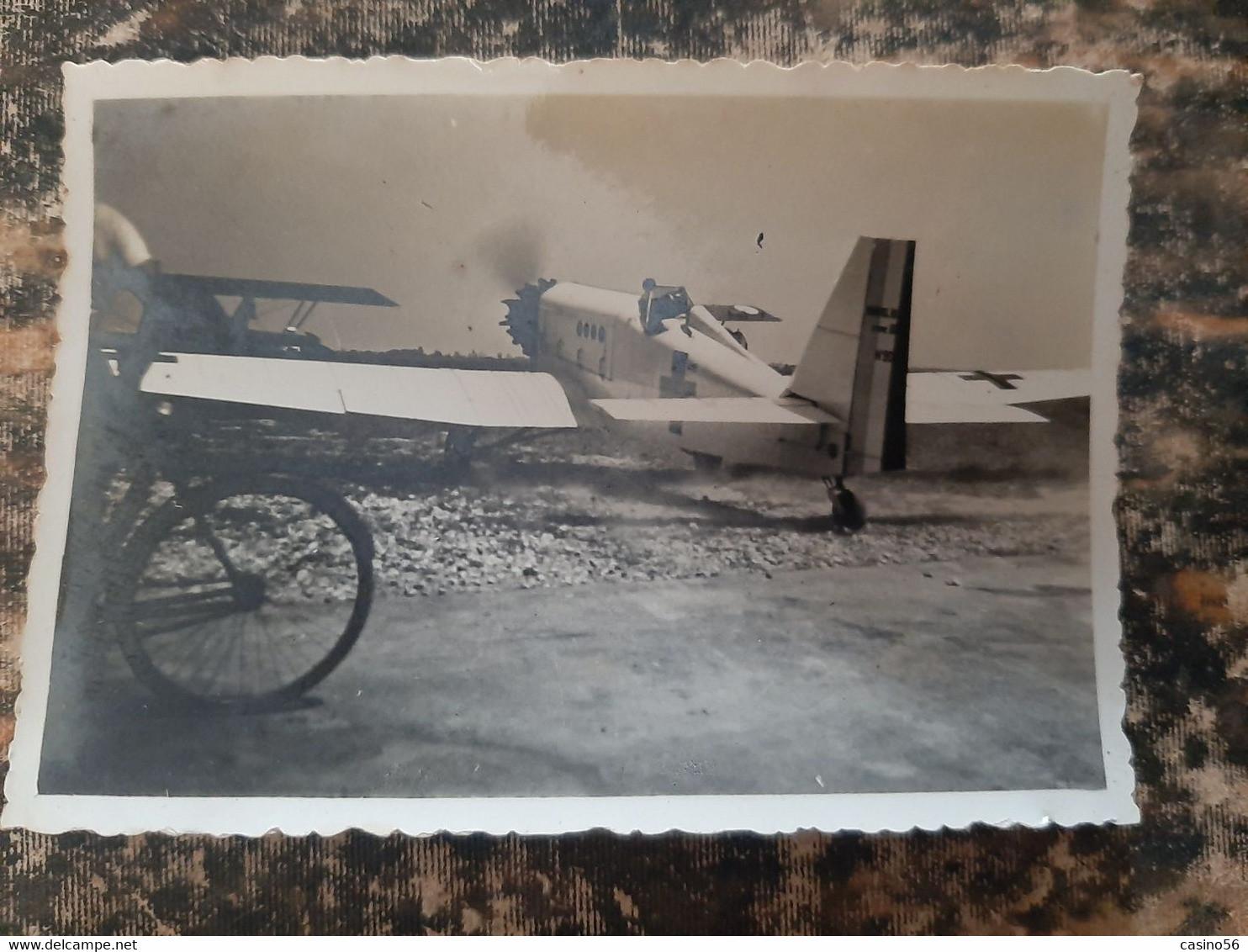 Photos Avions Aviation Aviateur Pilote Tours 1935 - Luftfahrt