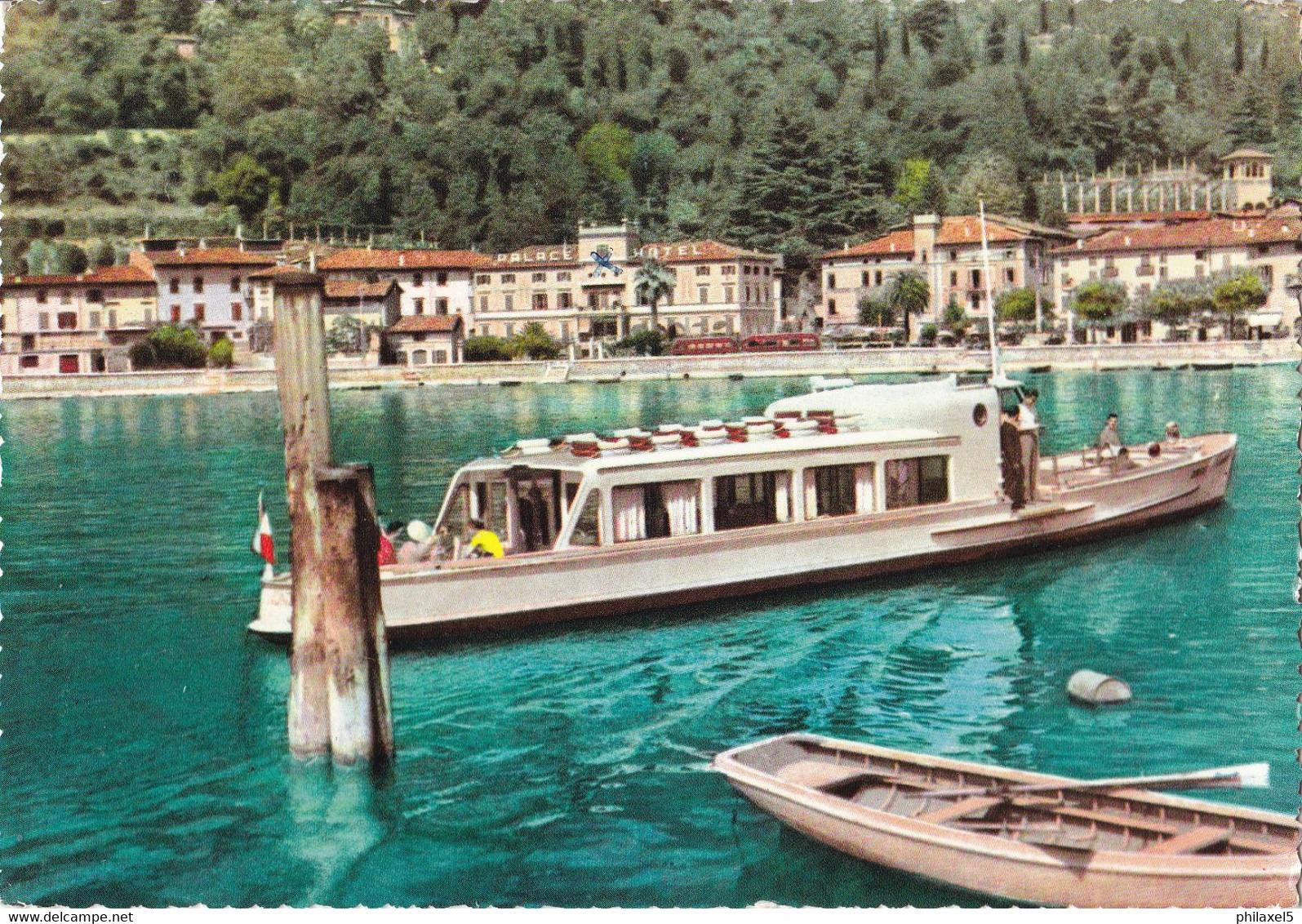 Italië - Lombardije - Garda - Lago Di Garda - Maderno - Panorama - Kleur/color - Gebruikt - Andere Städte