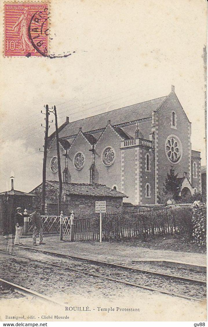 Rouillé , Le Temple Protestant - Andere Gemeenten