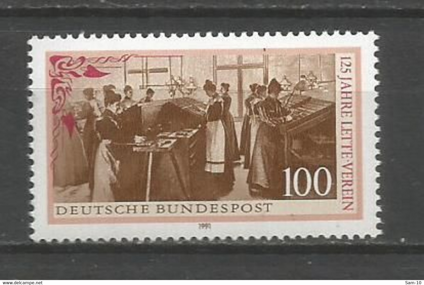 Timbre   Allemagne Fédérale Neuf **  N  1353 - Nuevos