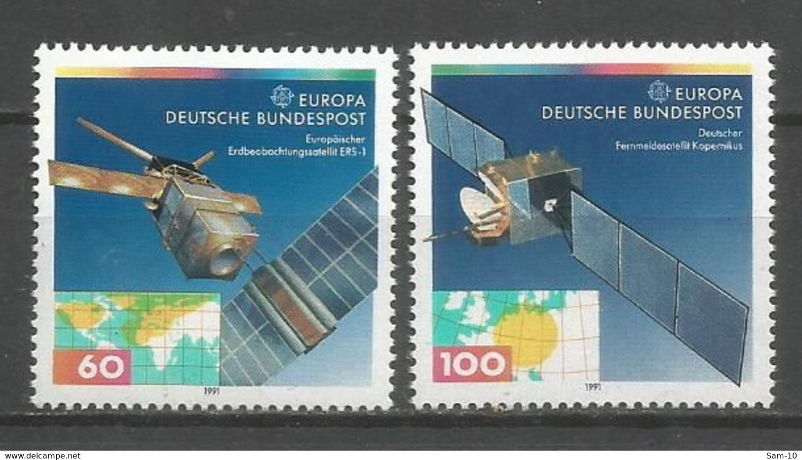 Timbre   Allemagne Fédérale Neuf **  N  1358 / 1359 - Nuovi