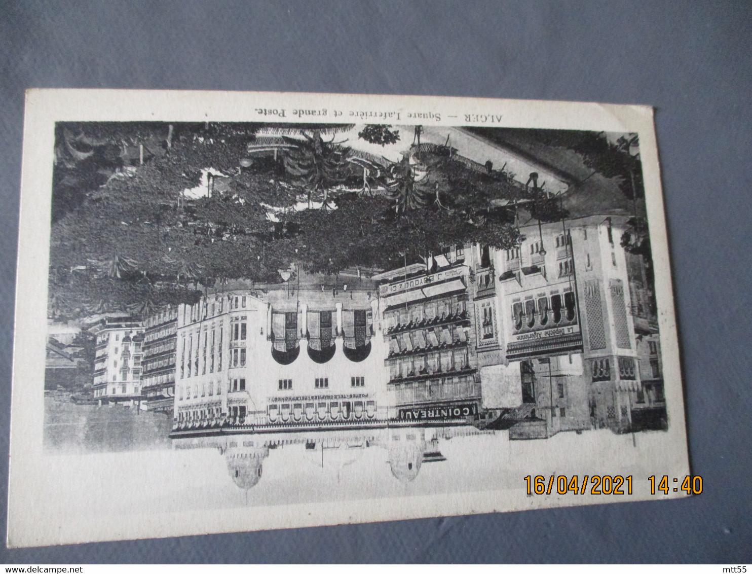Daguin  Alger Passez Hiver A Alger Flamme Omec - 1921-1960: Moderne